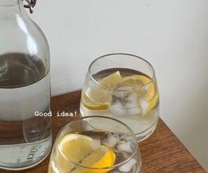 aesthetic, lemon, and water image