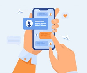 mobile app development and web app development image