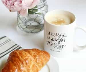 croissants, pastries, and breakfast image