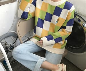 aesthetic, kfashion, and korean fashion image