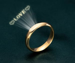 anniversary, engagement, and promise rings image