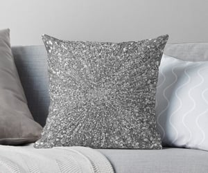 glitters, sparkling, and pillow image