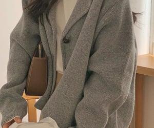 fall, fashion, and grey image