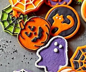 cats, frosting, and spiderweb image