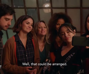 cast, maia mitchell, and the fosters image