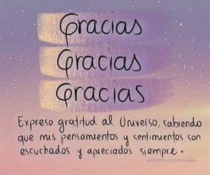 gracias and gratitud image