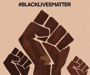 African, protest, and black people image