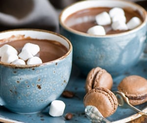 blue, chocolate, and cups image