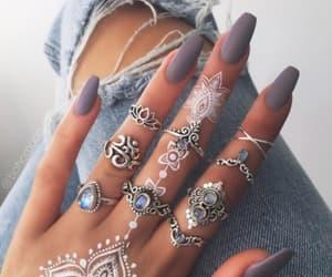 desing, henna, and long image