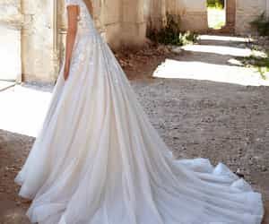 aesthetic, ball gown, and wedding image