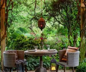 outdoor living, lighting, and lights image