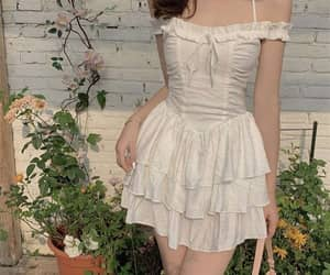 aesthetic, corset dress, and etsy image