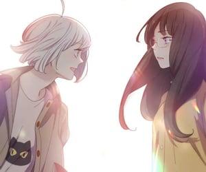 girls, yuri, and wlw image
