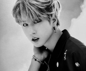 black and white, skz, and scan image