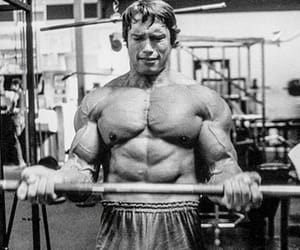 Arnold Schwarzenegger, motivate, and gym image