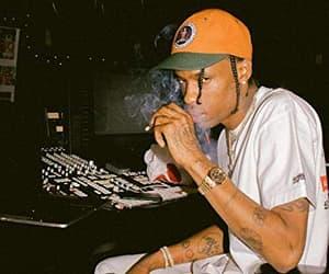 music, travis scott, and rap image