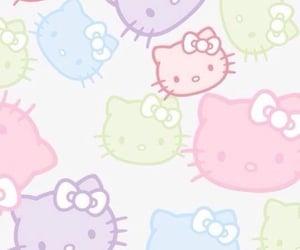 hello kitty, screensaver, and kawaii image