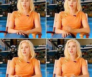 blonde, orange, and pretty image