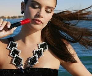 lipstick, model, and models image
