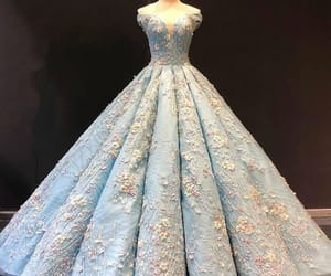 ball gown, dresses, and quinceanera dress image