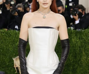 fashion, outfit, and the met gala image
