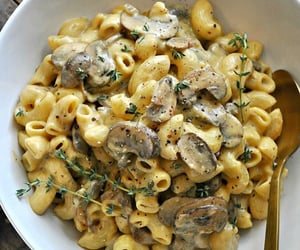 mushroom and pasta image