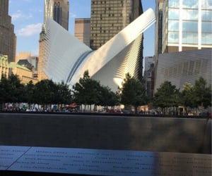 911, new york, and twin towers image
