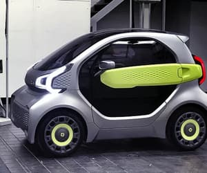 cars, technology, and electric cars image