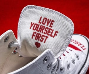 aesthetic, converse, and shoes image