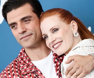 oscar isaac and jessica chastain image