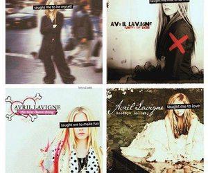 Avril Lavigne, let go, and under my skin image
