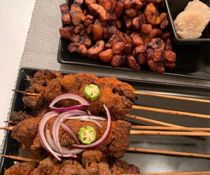 African and food image