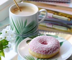 coffee, desserts, and donut image