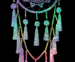 colorful, dreamcatcher, and galaxy image