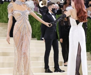 model, kendall jenner, and met gala image