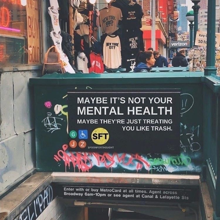 mental health, brain wash, and it's them image