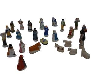 etsy, christian gift, and miniature nativity image