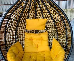 swings, swing chair, and basket chair image