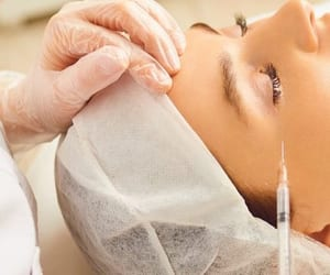 beauty skin treatment, botulinum toxin treatment, and treatment for wrinkles image