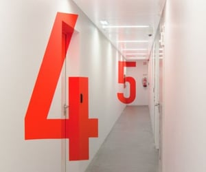 five, numbers, and number 4 image
