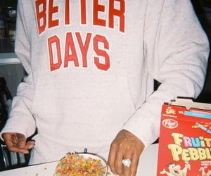 food, vintage, and cereal image