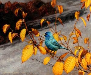 birds, bird art, and art image