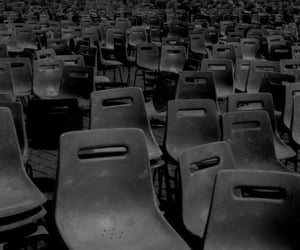 black, chairs, and seating image
