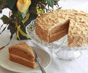 chocolate, chocolatecake, and bakecake image
