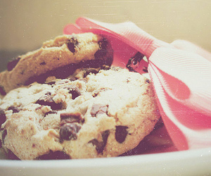 Cookies, pink, and cookie image
