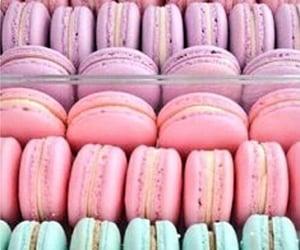pastel and macarons image