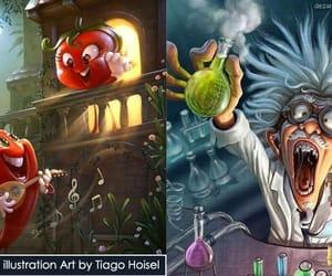 art, Digital Illustration, and digital artwork image