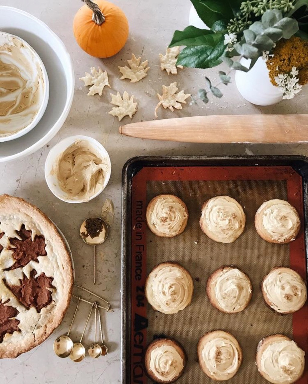 autumn, desserts, and fall image