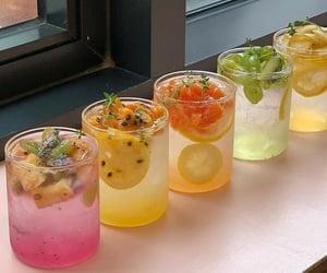 aesthetic, lemon, and soda image