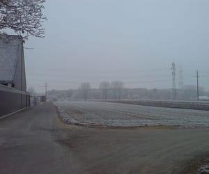 abandoned, farm, and melancholy image